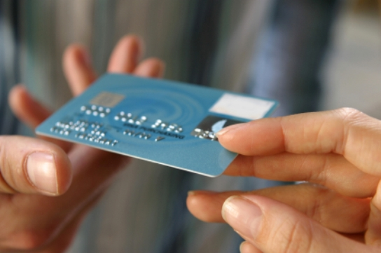 Accept payment cards from the customers